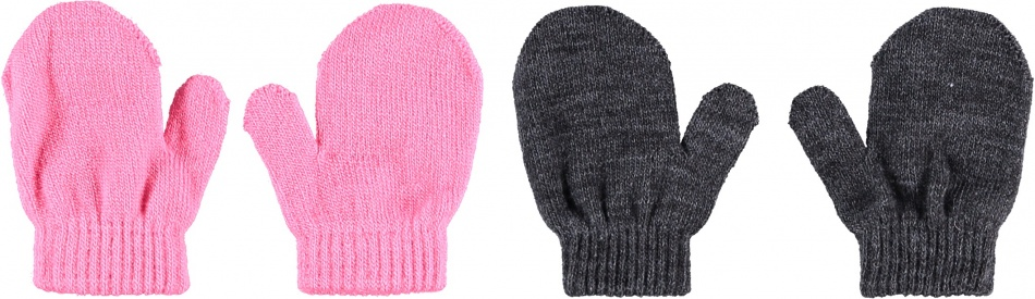 Sarlini Wanten Knit Multi Antracites 2-Pack