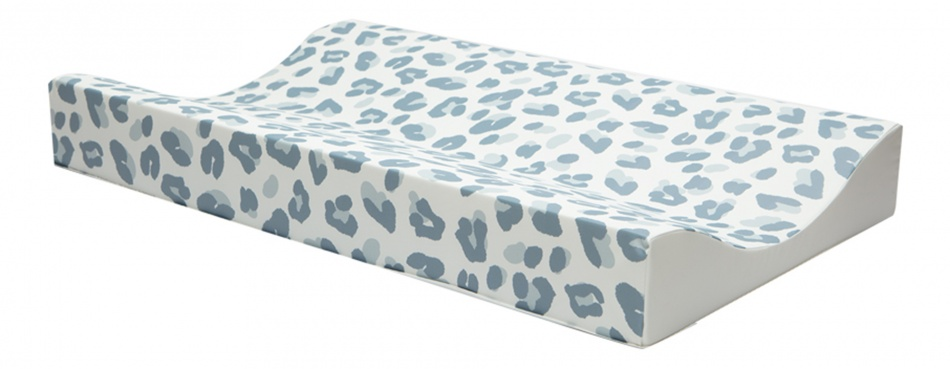 Bébé-Jou Aankleedkussen Leopard Blue