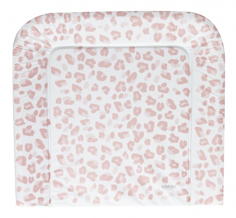 Bébé-Jou Aankleedkussen XL Leopard Pink