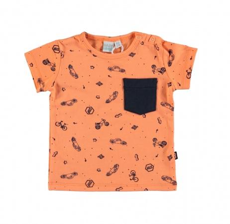 Babylook T-Shirt Korte Mouw Traffic
