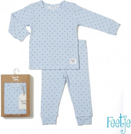 Feetje Pyjama XO Xaver Blauw