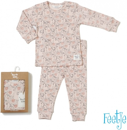 Feetje Pyjama Lama Laura Roze