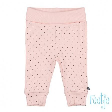 Feetje Broek Dots Roze