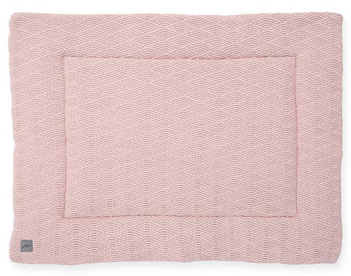Jollein Boxkleed River Knit Pale Pink<br> 80 x 100 cm