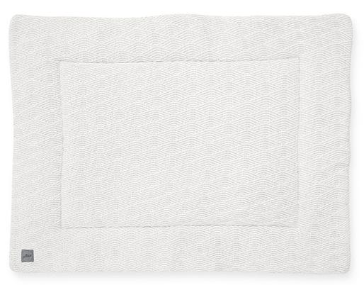Jollein Boxkleed River Knit Cream White<br> 80 x 100 cm