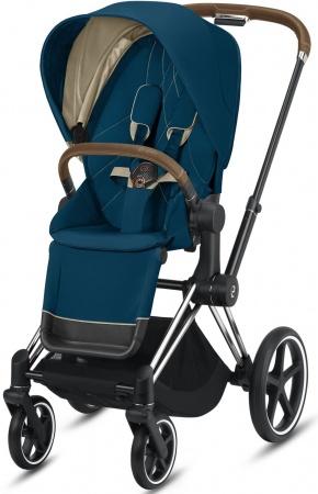 Cybex Priam Combi Chrome Brown/Chrome Mountain Blue/Turquoise