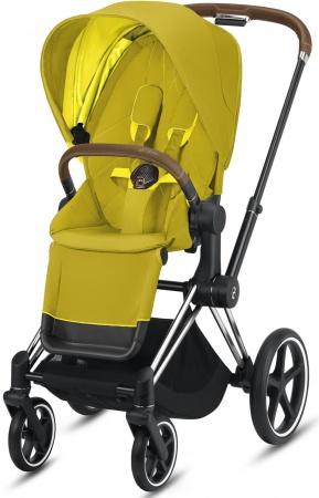 Cybex Priam Combi Chrome Brown/Chrome Mustard Yellow/Yellow