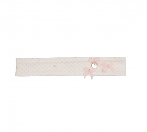 Gymp Haarband Mignonette Oldrose / Gold