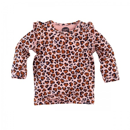 Z8 T-Shirt Lola Soft Pink Leopard