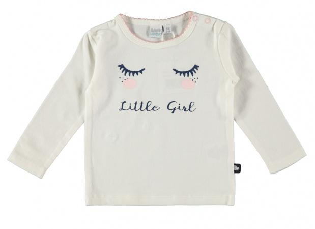 Babylook T-Shirt Girl Offwhite