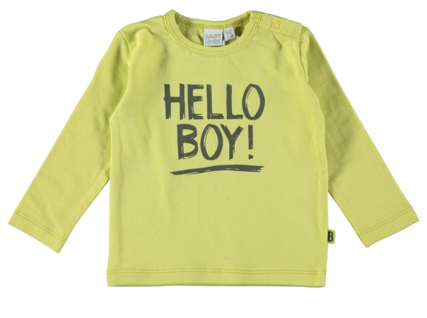 Babylook T-Shirt Boy Wild Lime