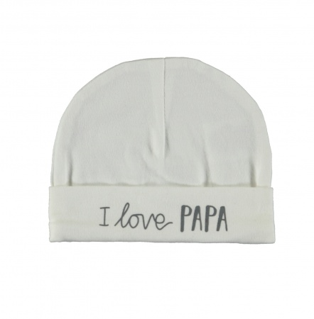 Babylook Muts Papa Offwhite
