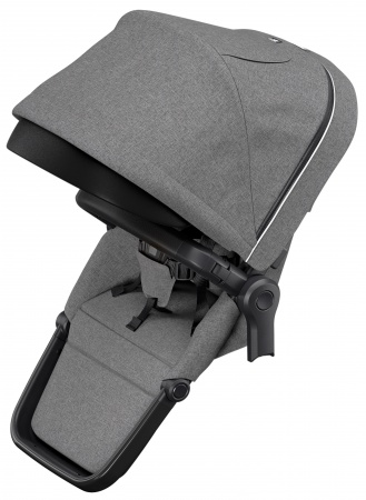Thule Sleek Sibling Seat Grey Melange On Black