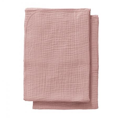 Cottonbaby Multidoek Soft S Oudroze<Br> 2Stuks