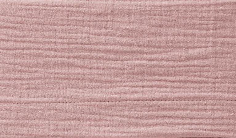 Cottonbaby Wieglaken Soft Oudroze <Br> 75 x 90 cm