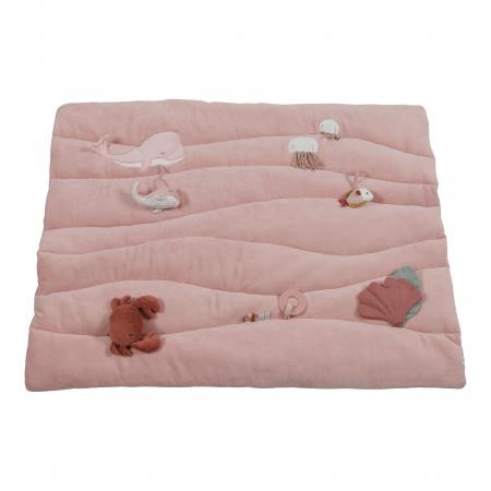 Little Dutch Boxkleed Ocean Pink <br> 80 x 100 cm
