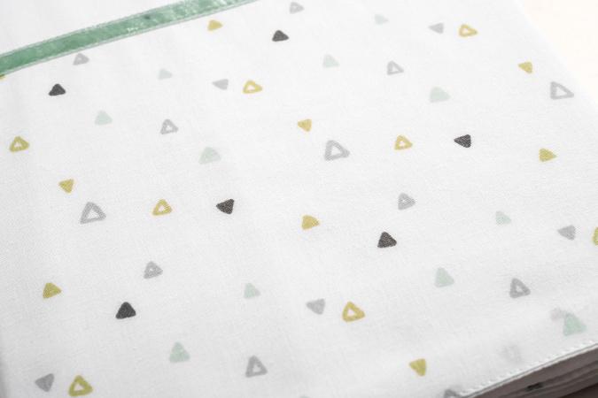 Briljant Wieglaken Triangle <br> 75 x 100 cm
