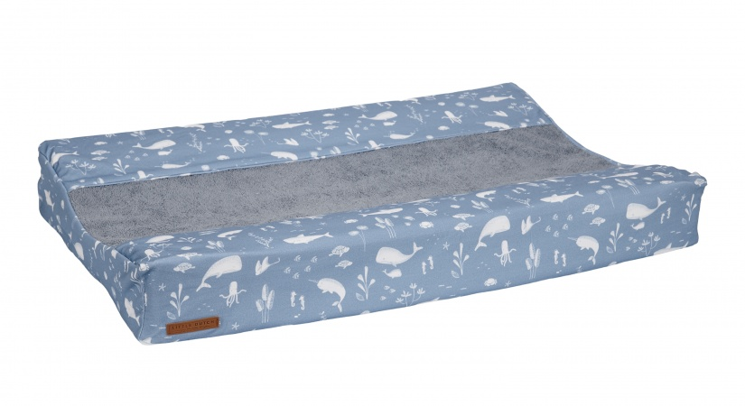 Little Dutch Aankleedkussenhoes Ocean Blue 44 x 72 cm
