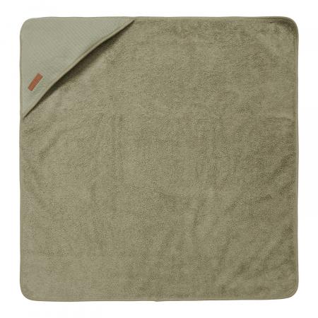 Little Dutch Badcape Pure Olive <br> 75 x 75 cm