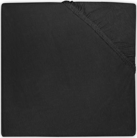 Jollein Wieghoeslaken Jersey <br> 40 x 80/90 cm  Black
