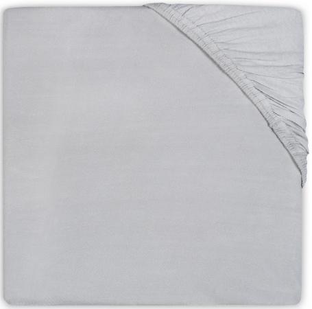 Jollein Wieghoeslaken Jersey <br>           40 x 80/90 cm Soft Grey