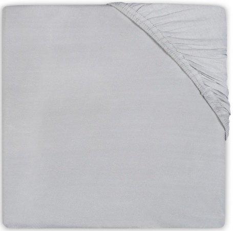 Jollein Juniorhoeslaken Jersey <br>70 x 140/150 cm Soft Grey