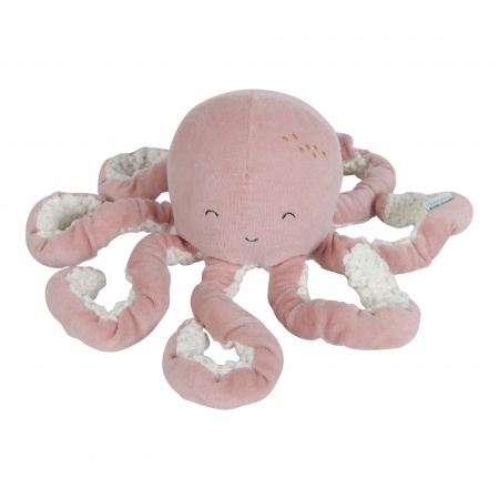 Little Dutch Knuffel Octopus Ocean Pink (25 cm)