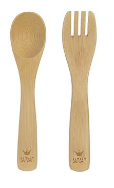 Bambam Vork En Lepel Bamboo
