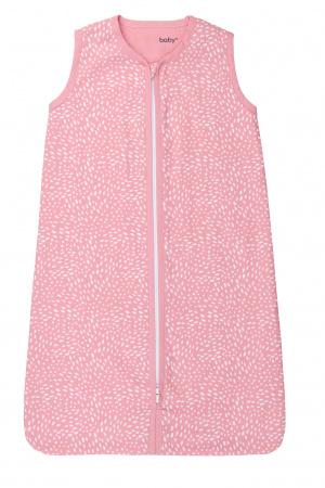 Briljant Slaapzak Zomer Minimal Dots Pink/White 70cm