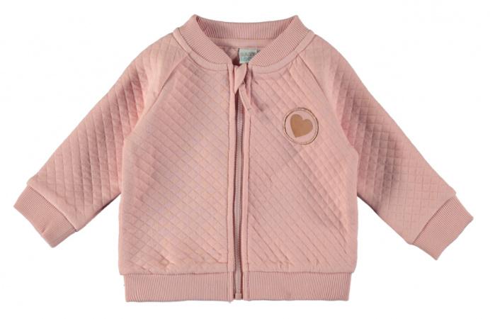 Babylook Bomberjack Silver Pink