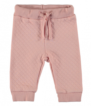 Babylook Broek Quilted Silver Pink