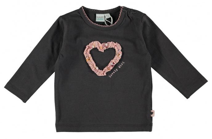 Babylook T-Shirt Heart Asphalt