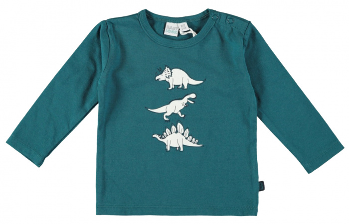 Babylook T-Shirt Dino Blue Coral