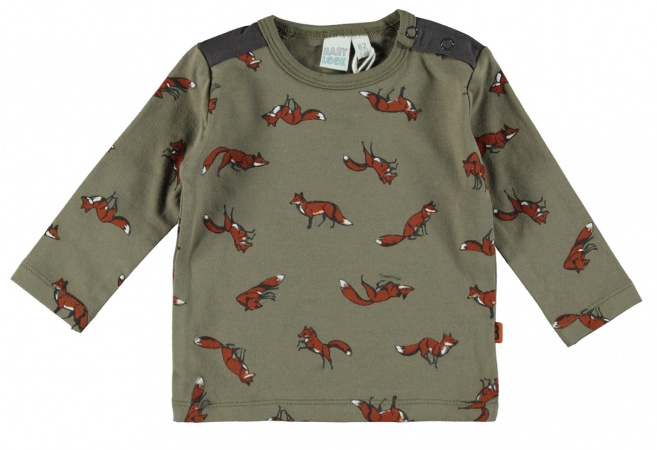 Babylook T-Shirt Fox Dusty Olive