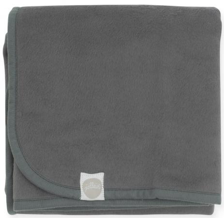 Jollein Wiegdeken Storm Grey <br>  75 x 100 cm