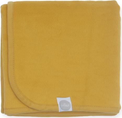 Jollein Ledikantdeken Mustard <br> 100 x 150 cm
