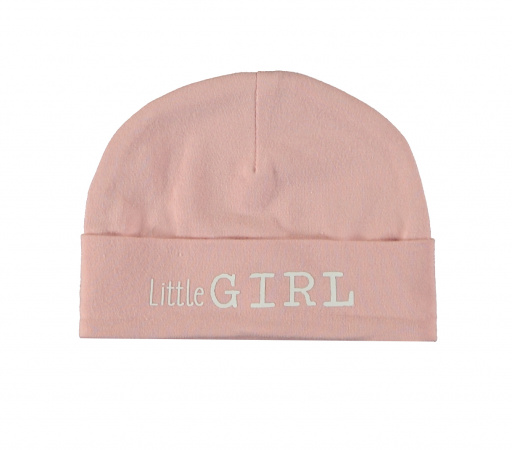 Babylook Muts Little Girl Silver Pink
