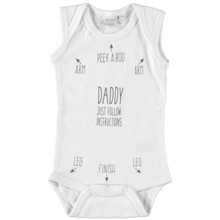 Babylook Romper Instructions White