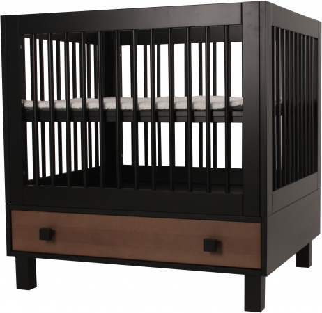Happy Baby Bolero Madera Box Zwart Met Hout