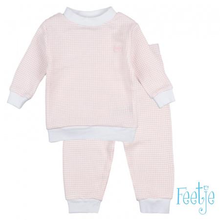 Feetje Pyjama Zalm Wafel