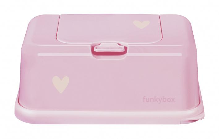 Funkybox Little Heart Pale Pink Mat