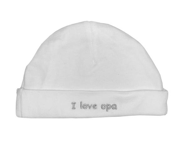 La Petite Couronne Muts I Love Opa White Grey