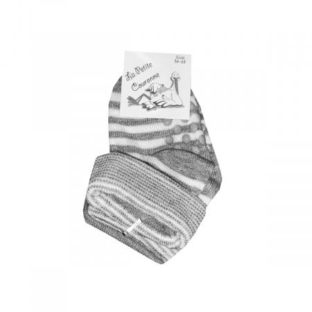 La Petite Couronne Sokjes Grey White 2-pack
