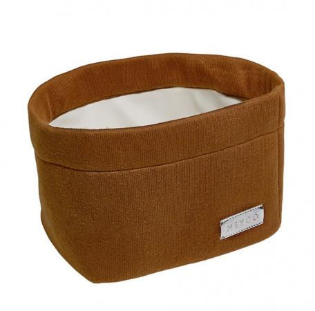 Meyco Mandje Medium Knit Basic Camel