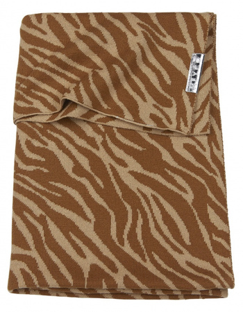 Meyco Wiegdeken Zebra Camel<br> 75 x 100 cm