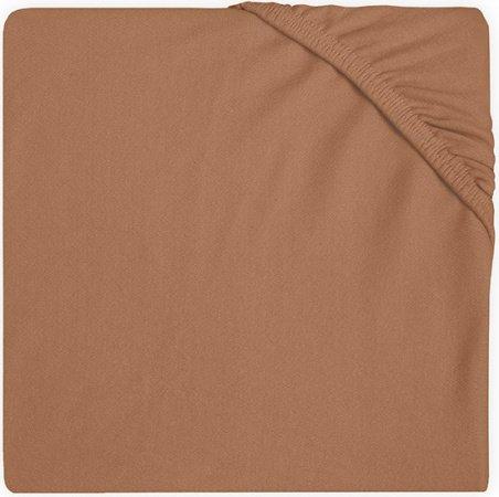 Jollein Wieghoeslaken Jersey <br> 40 x 80/90 cm  Caramel