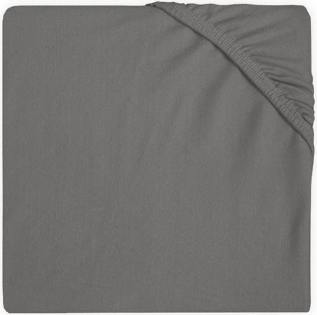 Jollein Wieghoeslaken Jersey <br>  40 x 80/90 cm Storm Grey