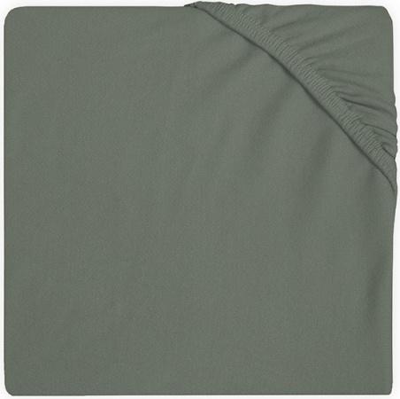 Jollein Wieghoeslaken Jersey <br> 40 x 80/90 cm Ash Green