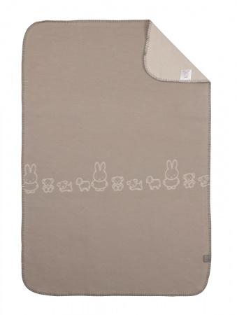 Nijntje Wiegdeken Grey 75 x 100 cm