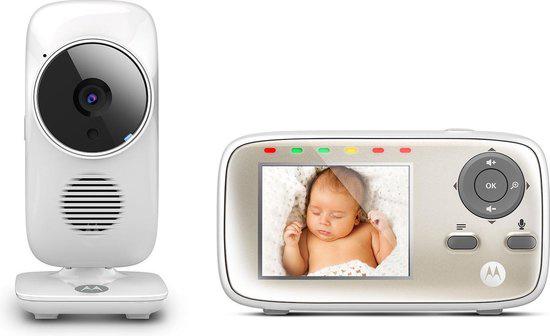 Motorola Digitale Beeldbabyfoon MBP483